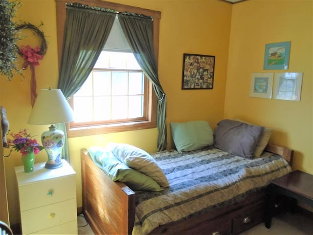 2nd bedroom has trundle bed; second bed slides out