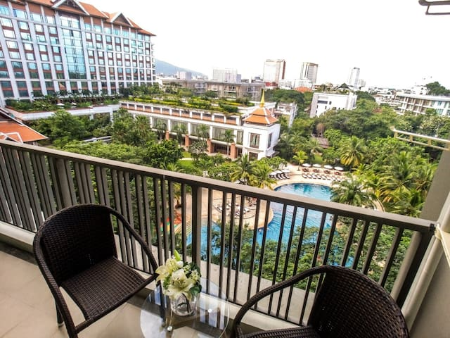 Stunning view in Astra Condo Chiang Mai美景在你眼前
