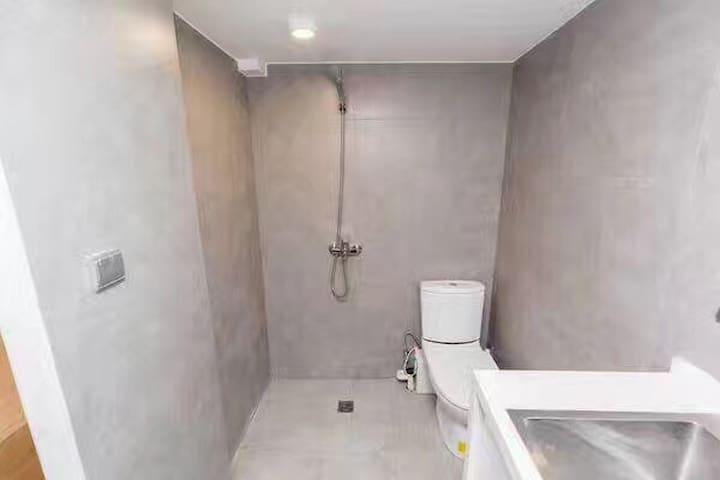 简约的浴室