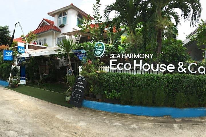 4 Bedrooms Garden House walk to the beach & SEA - Tambon Nong Kae - Rumah