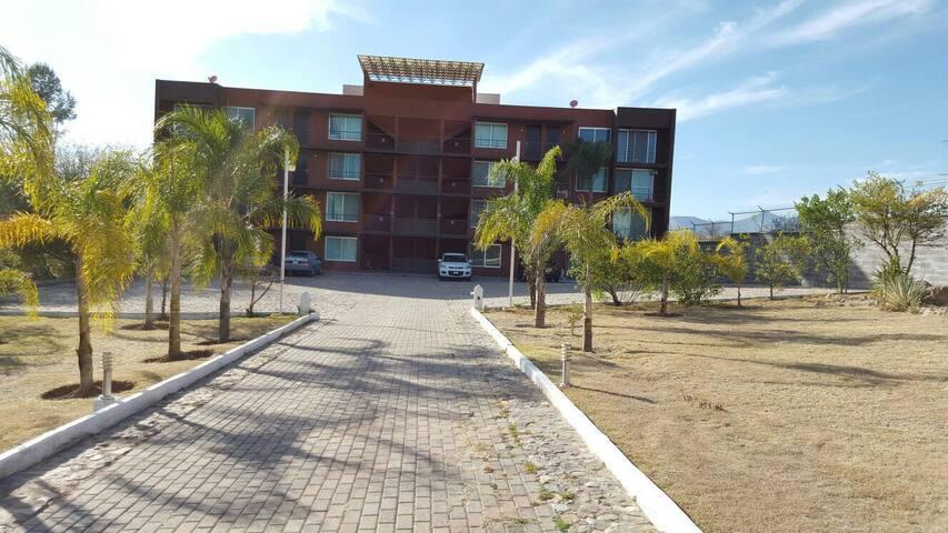Luxury gated apartments community