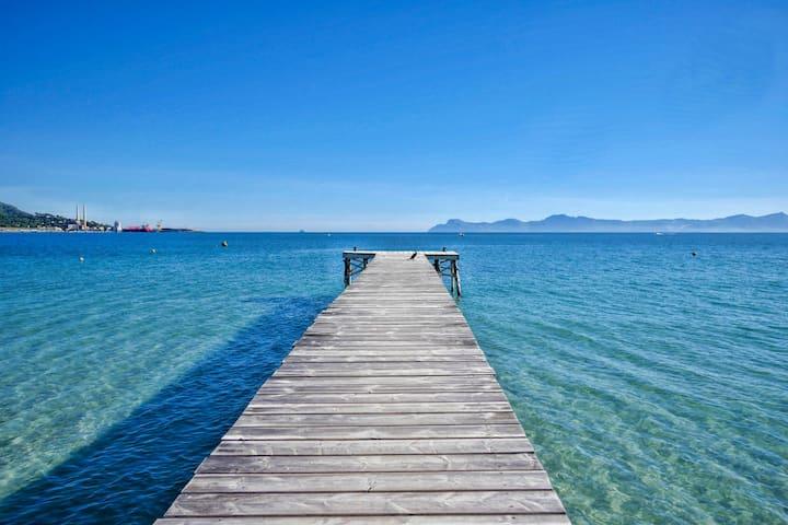 Strandwohnung, perfekte Lage nur 200m vom Strand