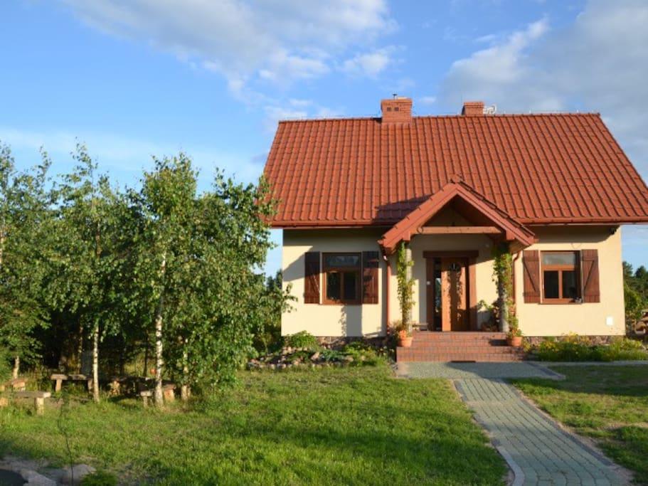 holiday house zagajnik h user zur miete in gorczyca podlaskie polen. Black Bedroom Furniture Sets. Home Design Ideas