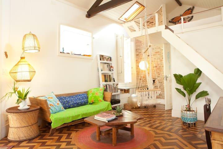 designer loft in a charming village - Rio de Janeiro - Dům