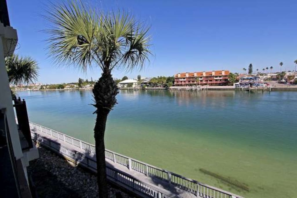 Where your balcony has a view of the intercoastal waterway...