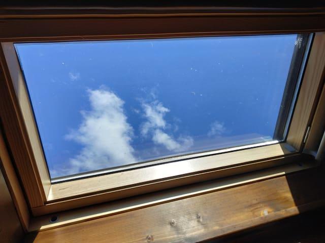 Disteso sul tuo letto che guardi il cielo