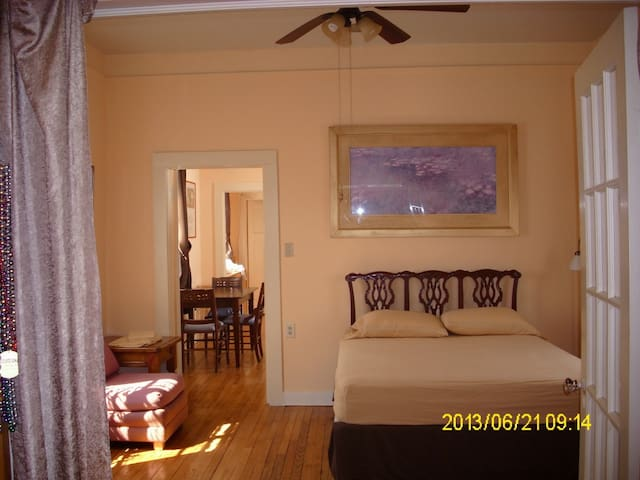 SpaciousCleanFunctional Private Apt - New Orleans - Apartment