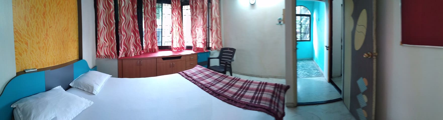 AC + WiFi Private Room in Bungalow @PCMC