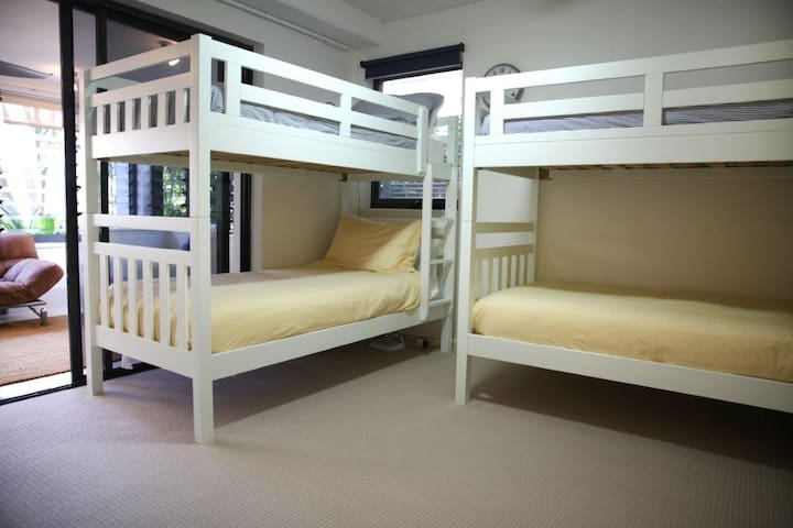 Bedroom 3 with 2 sets of Bunks