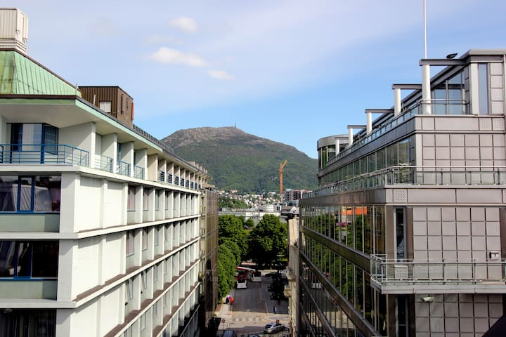 Extremely central & Great apartment - Bergen - Daire