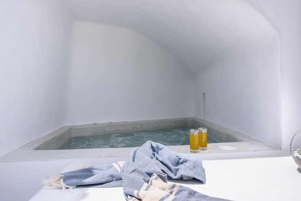 Enjoy your hot tub