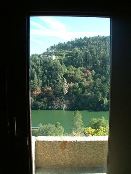 Casa de Gondomil - vista do rio Douro