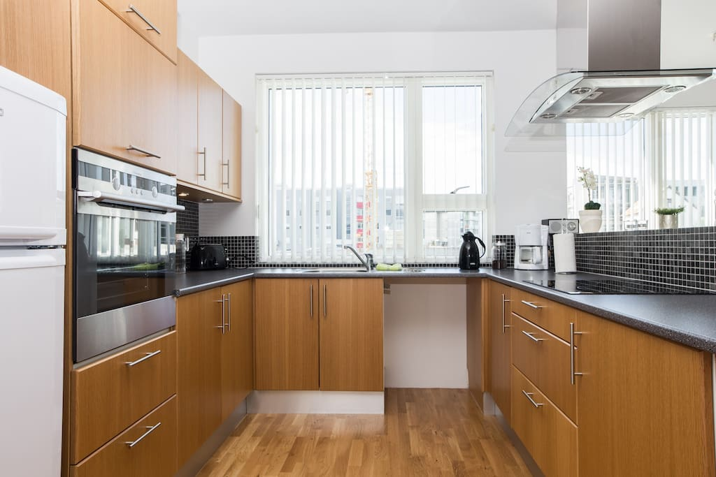 The kitchen is the heart of the apartment, fully equiped for all your needs