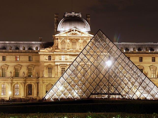 LOUVRE on your doorstep - Clean Studio sleeps 4 - Paris - Apartemen