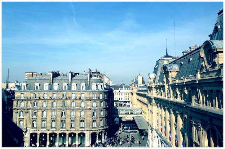 Cosy Flat- Paris/Opéra/Saint-Lazare