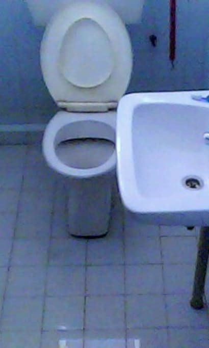 Private bathroom and toilet