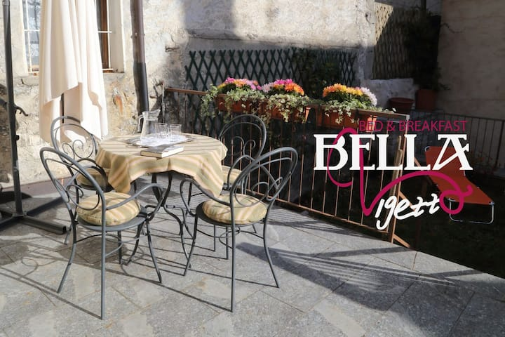 B&B Bella Vigezzo - camera Giovanna