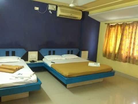 Deluxe AC Rooms for Family in Bijapur