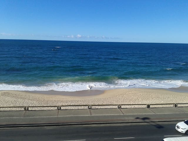 Vista para o mar.