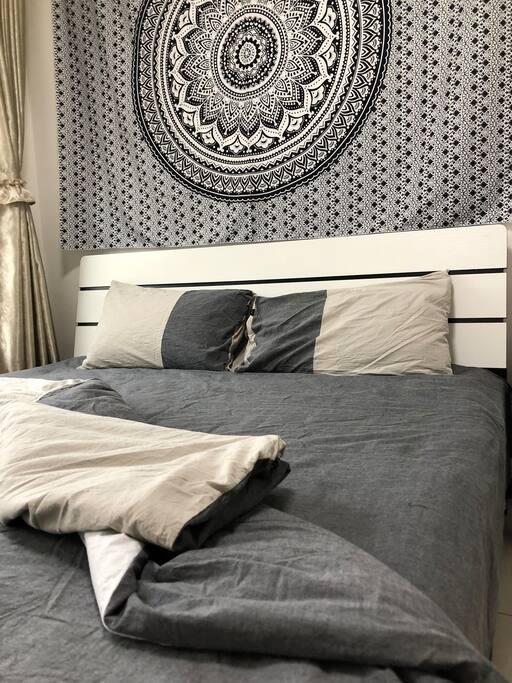 棉麻亲肤卧具,带来好睡眠