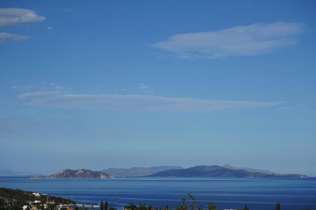 Epidavros Country Villa Sea View from Villa  Sleeps 11