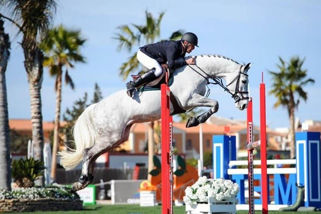 "A escasos 50 metros de MET ""Mediterranean Equestrian Tour"""