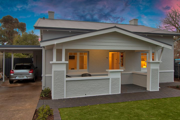 2BR Cottage With Parking Close To Adelaide CBD