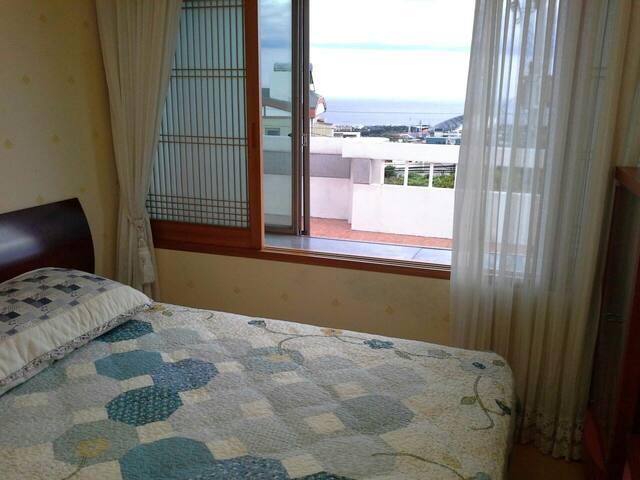 济州岛山海之家的海景房间~2人间/3人间 - Seogwipo-si - Villa