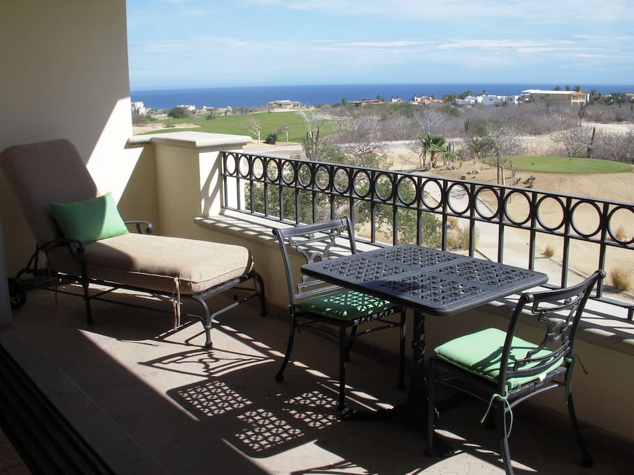 Terrace with a view of the Sea of Cortes