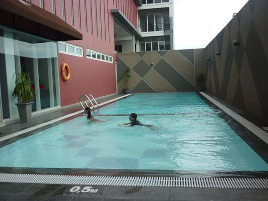 Enjoy the Pool to keep you relax or spent unforgettable moment with your kids