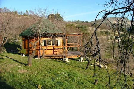 Solterreno cabin mountain retreat - La Vall De Laguar - Cabana