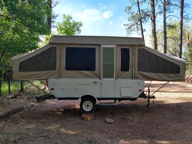Enjoy the great outdoors camping in RIM Country