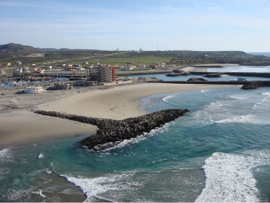 This area of Baja is also know as La Salina.  It is just north of Ensenada about 20 miles