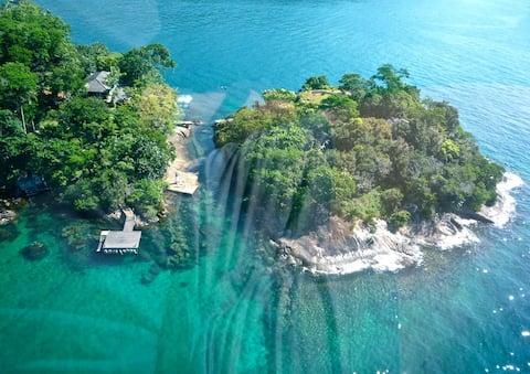 Paraíso insular privado - Ilha Grande