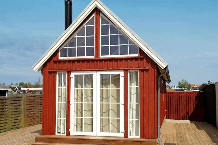 Delightful Holiday Home in Karrebæksminde with Fireplace