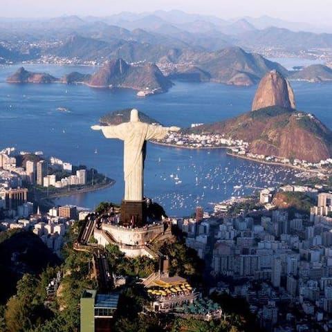 Christ the Redeemer. One of the 7 wonders of the world.