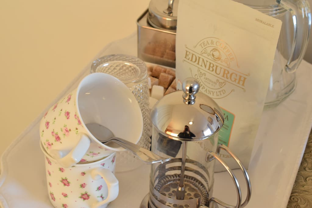Coffee, Tea and shortbread