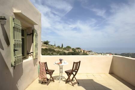 Thimonies villas-Lovely view-Elia - Roussospiti - Villa
