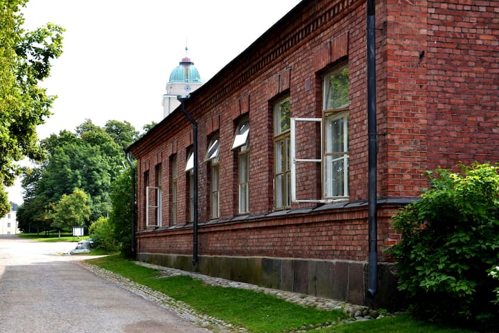 Twin Room with Shared Bathroom in Suomenlinna