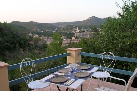 House with panoramic view - Gard - Saint-Ambroix