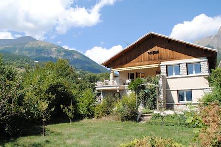 Appartement Type 3 en Chalet Montagnard - Châteauroux-les-Alpes - Apartamento
