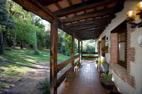Casa rural con vistas al bosque 2