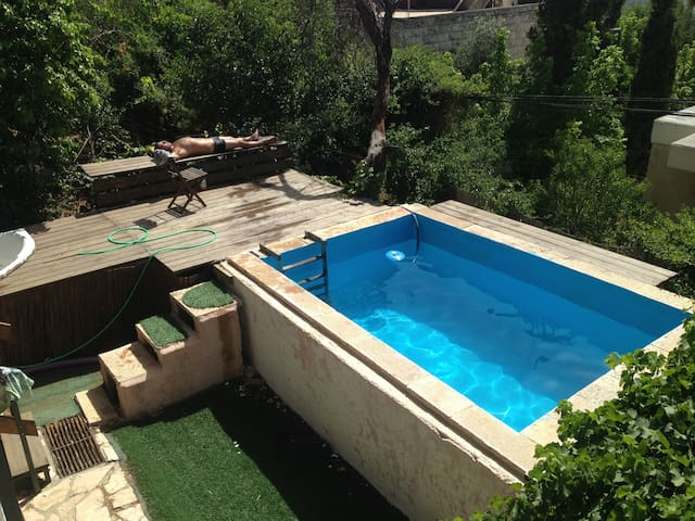 3 rooms in private house w/ garden - Jerusalem - Casa