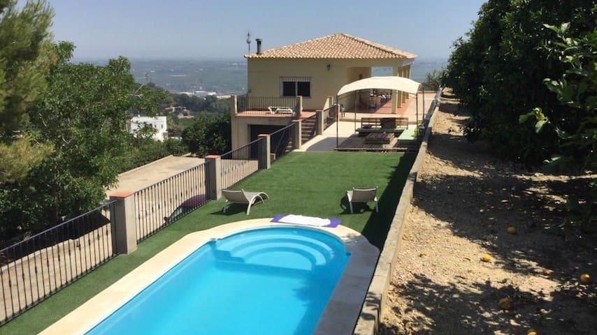 Chalet en monta a cerca de cullera casas rurales en - Casa rurales comunidad valenciana ...