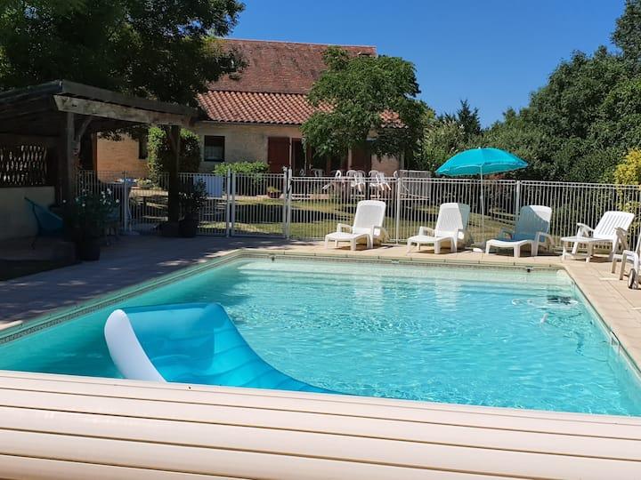 Gîte 5 personnes avec piscine sécurisée