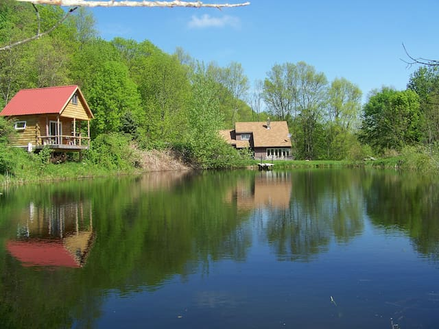 Luxury camping in a beautiful cabin (April - Oct.)