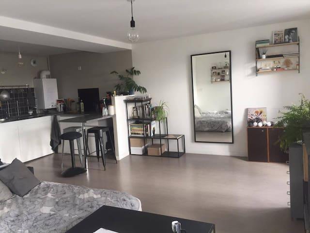 Quiet and bright studio in the heart of paris - Parigi - Appartamento
