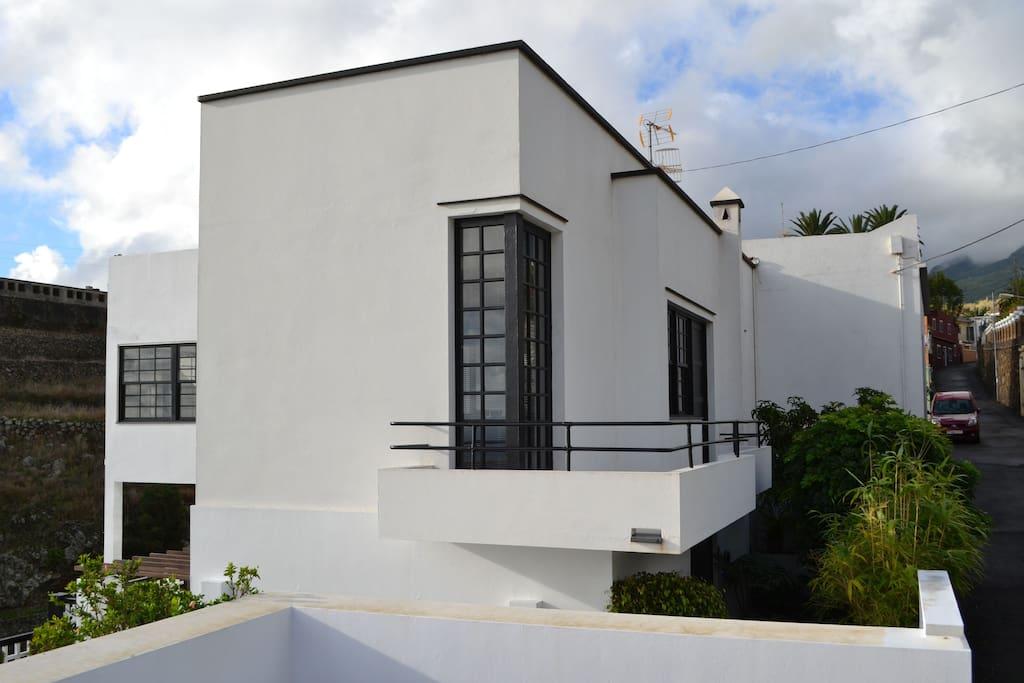 Klare Linien, typische Bauhausdetails