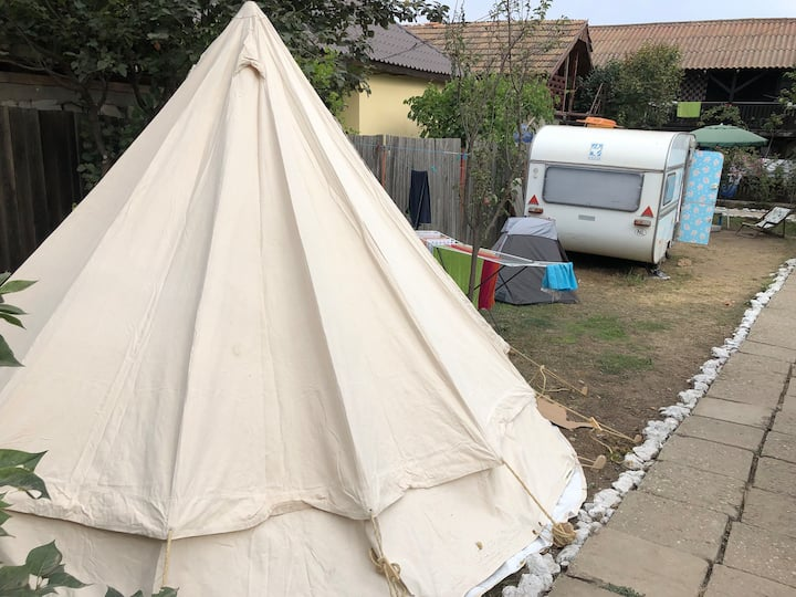 Tipi Tent whith toilet in Vama Veche