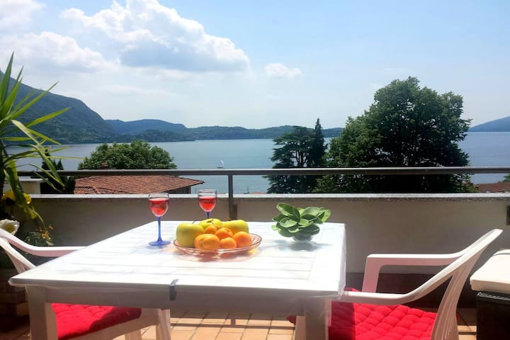 Spacious Apartment in Ghiffa Italy With Pool